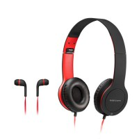 MARS GAMING MHCX 2IN1 COMBO FOLDABLE HEADSET+IN-EAR HEADPHONES, MIC, 3.5MM JACK
